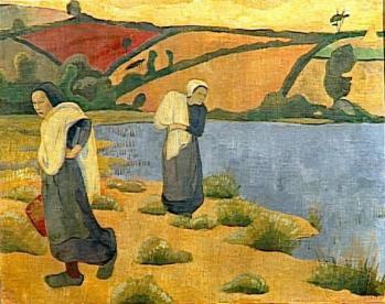 Paul Sérusier. Les laveuses à la Laïta (1892)
