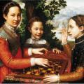 Sofonisba Anguissola. La partie d'échecs (1555)