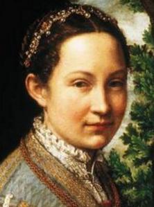 Sofonisba Anguissola. La partie d'échecs, détail(1555)
