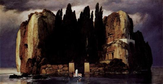 Böcklin. L'île des morts, 1886