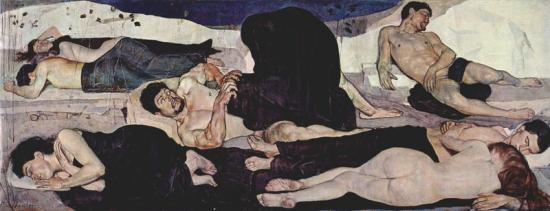 Hodler. La nuit, 1889-90