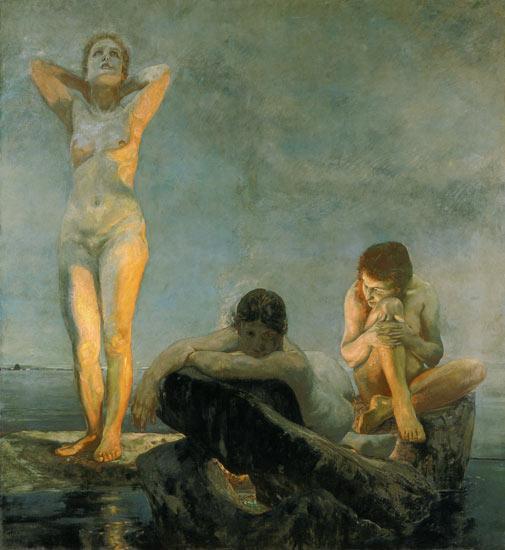 Klinger. L'heure bleue, 1890