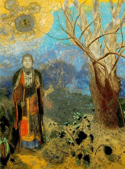 Redon. Le Bouddha, 1904