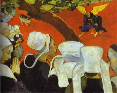 Gauguin. Vision après le sermon, 1888
