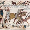 Tapisserie de Bayeux, mort de Harold (1066-1082)
