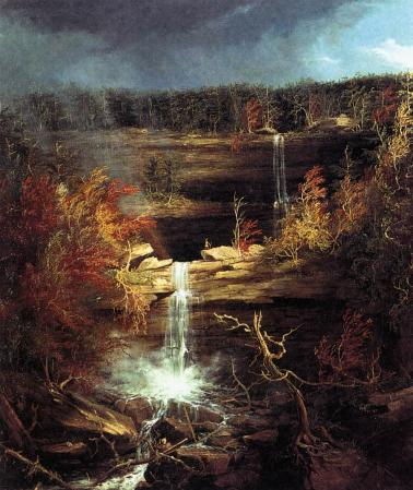 Thomas Cole. Chutes de Kaaterskill (1826)