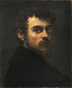 Tintoret. Autoportrait (1546-48)