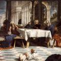 Tintoret. Le Christ lavant les pieds de ses disciples (v. 1547)