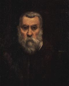 Tintoret. Autoportrait (1588)
