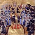 Traités théologiques de Jean VI Cantacuzène, folio 5v (1370-75)