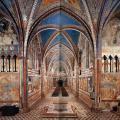 Transept de la basilique supérieure Saint-François d'Assise