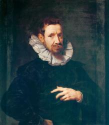 Van Dyck (?). Portrait de Jan Brueghel