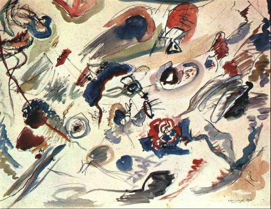 Vassily Kandinsky. L'aquarelle abstraite (1910)