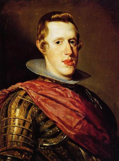 Vélasquez. Philippe IV (1628)