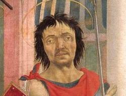 Veneziano. Autoportrait extrait du retable Magnoli