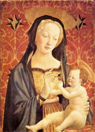 Veneziano. Vierge à l'enfant (1435-37)