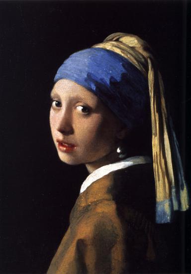 Vermeer. La jeune fille à la perle (1665-67)