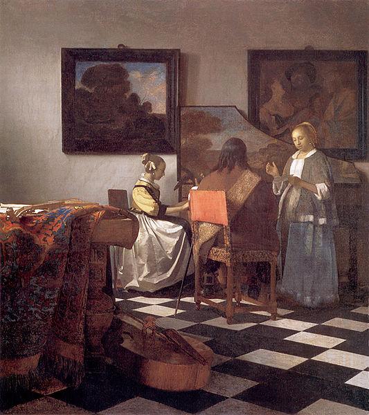 """Résultat de recherche d'images pour """"vermeer peintre"""""""