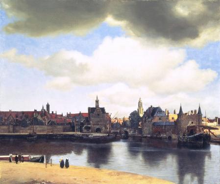 Vermeer. Vue de Delft (1660-61)