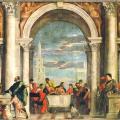 Véronèse. Le repas chez Lévi (1573)