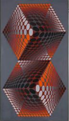 Victor Vasarely. Bi-Tupa (1974-76)