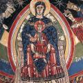 Vierge en Majesté. (v. 1123)