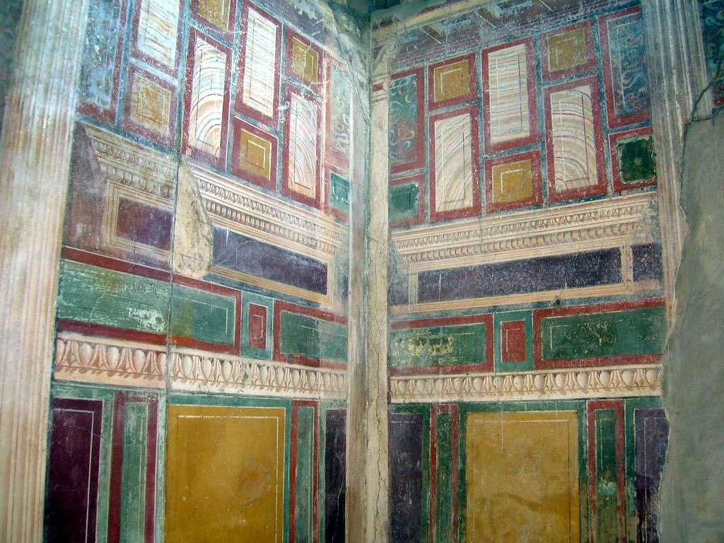Peinture et mosa que romaines de l antiquit - Style de peinture murale ...