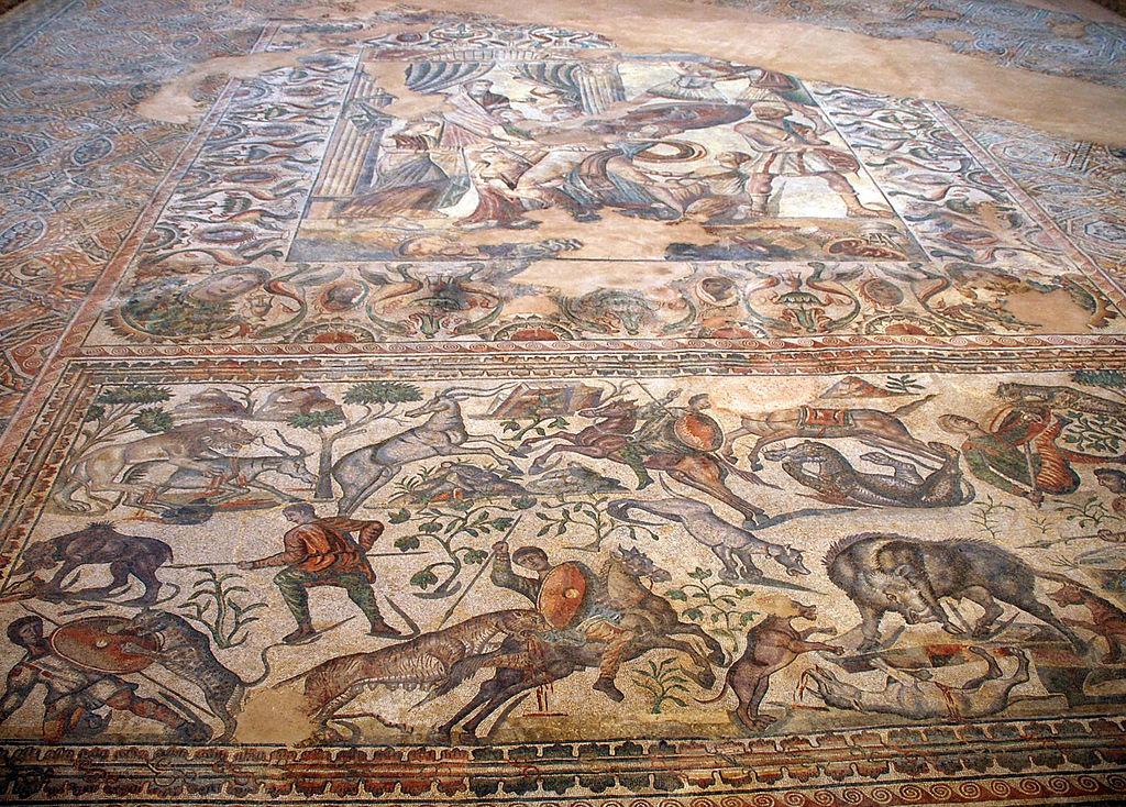 Peinture et mosa que romaines de l antiquit for Mosaico romano