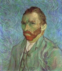 Vincent van Gogh. Autoportrait (1889)