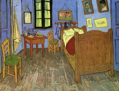 Vincent van Gogh. La chambre de van Gogh à Arles (sept. 1889)