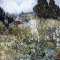 Vincent van Gogh. Mademoiselle Gachet dans son jardin (juin 1890)