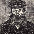 Vincent van Gogh. Portrait du facteur Joseph Roulin (1888)