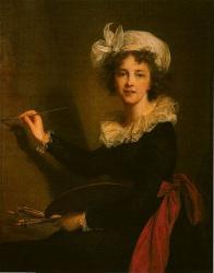 Vigée-Lebrun. Autoportrait,1790