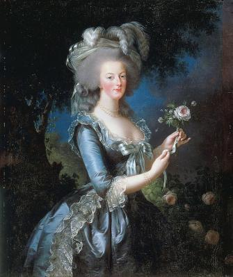 Elisabeth Vigée Le Brun. Marie-Antoinette, 1783