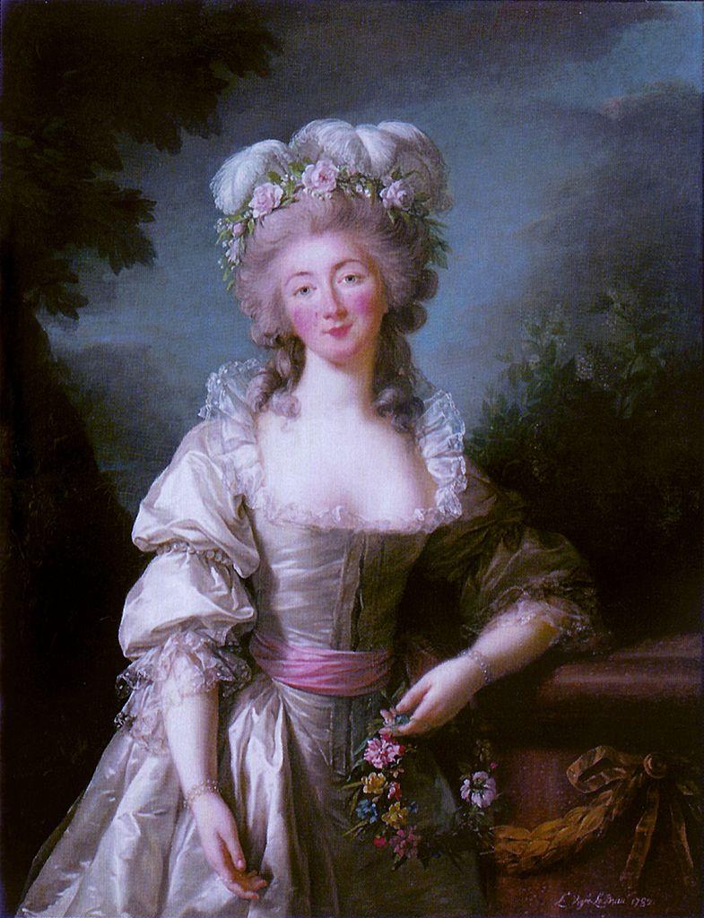 Très Biographie et oeuvre d'Elisabeth Vigée-Le Brun PD07