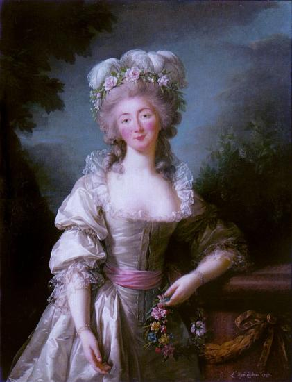 Vigée-Lebrun. Mme du Barry, 1782