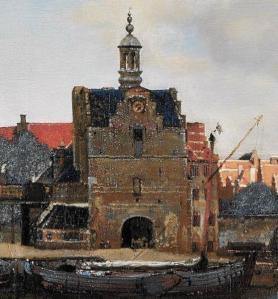 Vue de Delft. Porte de Schiedam