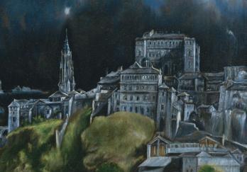 Vue de Tolède, la ville