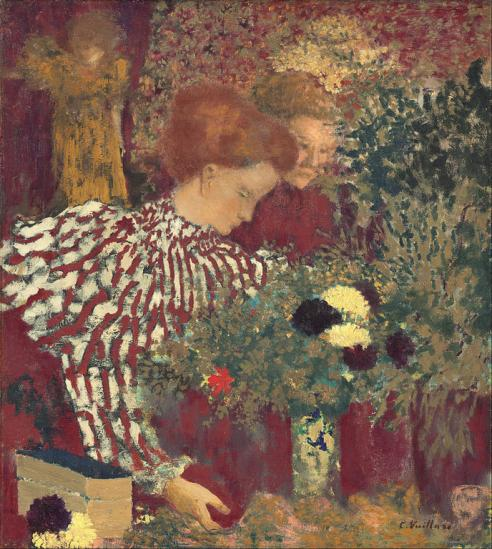 Vuillard. Le corsage rayé (1895)