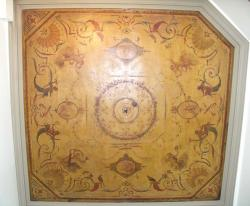 Watteau, Audran, Lancret. Plafond peint, 1713