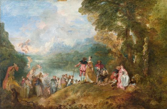 Watteau. Pèlerinage à l'Île de Cythère, 1717