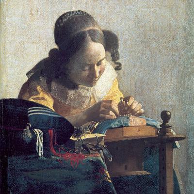 Vermeer, La Dentellière