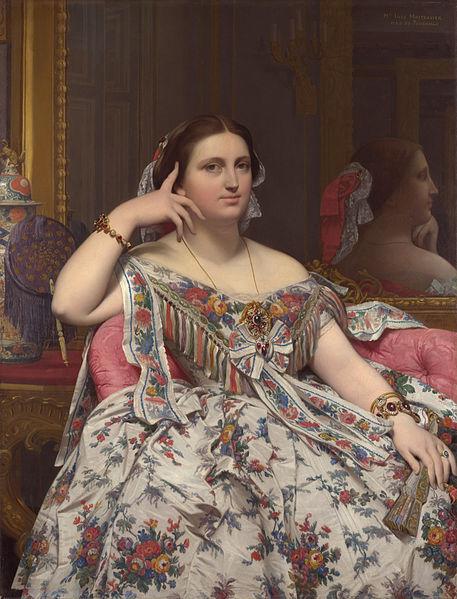 Mme Moitessier assise (1847-1856)