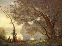 Corot, Souvenir de Mortefontaine (1864)