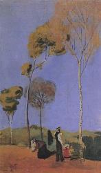 Promenade avec enfant, 1907