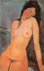 Modigliani, Nu assis (1916)