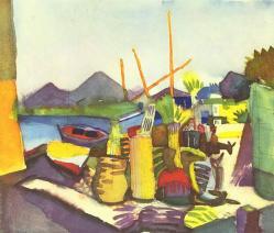 Paysage des environs de Hammamet, 1914