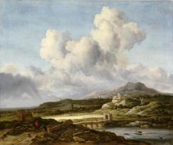 Jacob van Ruisdael. Le coup de soleil (1660)