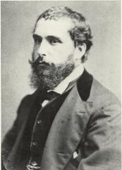 A. Greiner. Photographie de Claude Monet en 1871
