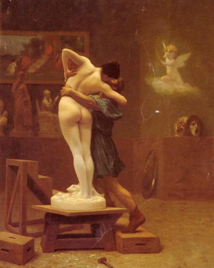 Gérôme. Pygmalion et Galathée (1890)
